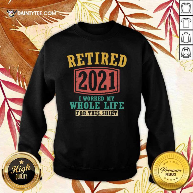 Retired 2021 Whole Life Sweater