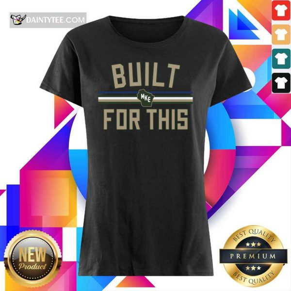 Top Built MKE For This Milwaukee Ladies Tee