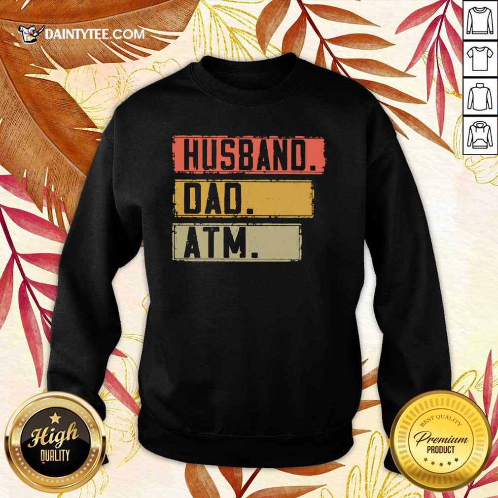 Top Husband Dad Atm Vintage Sweater