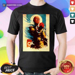 Caped Baldy Ok Shirt