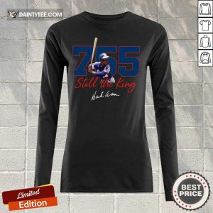 Corked Bat 755 Still The King Signature 2021 Long-sleeved
