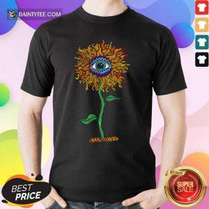 Eyes In Flowers Trippy Shirt