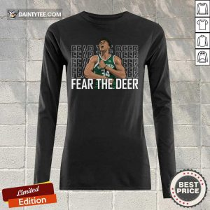 Giannis Antetokounmpo Fear The Deer Long-sleeved
