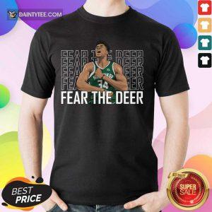 Giannis Antetokounmpo Fear The Deer Shirt