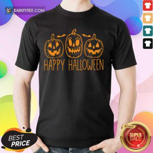 Hot Happy Halloween Pumpkin Shirt
