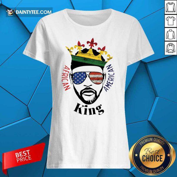 Hot King African American Ladies Tee