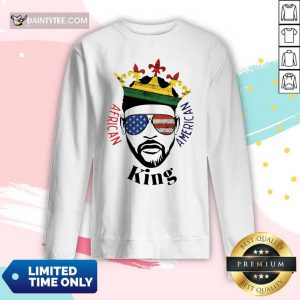 Hot King African American Long-sleeved