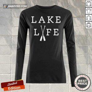Hot Lake Life Long-sleeved
