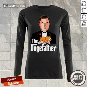 Hot The Dogefather Long-sleeved