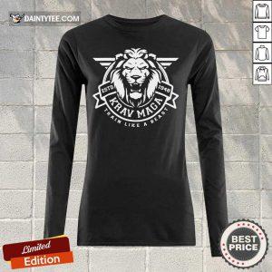 Lion Krav Maga Train Like A Beast Long-sleeved