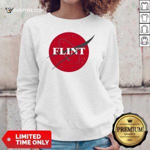 Nasa Flint Made To Match Jordan 13 Red Flint Sweater