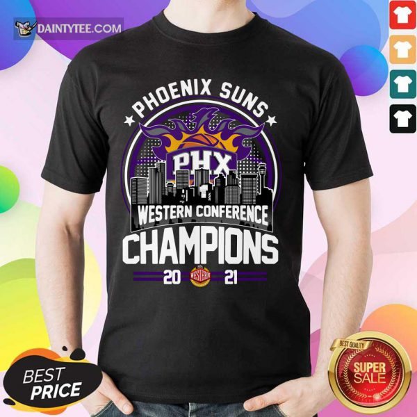 Phoenix Suns Western Conference Champions 2021 Shirt