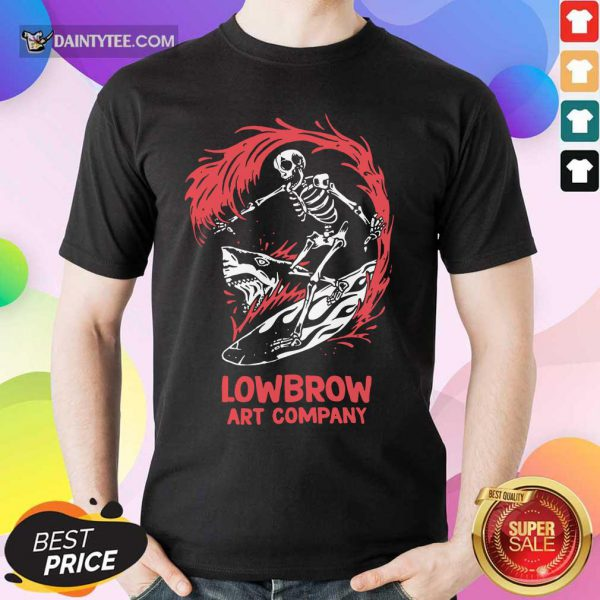 Shark Lowbrow Art Co Shirt