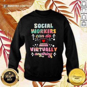 Social Worker Can Do Virtually Anything Sweater