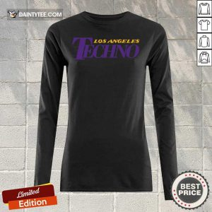 Top Los Angeles Techno Long-sleeved