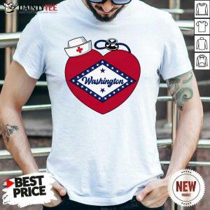 Washington Heart Nurse Shirt